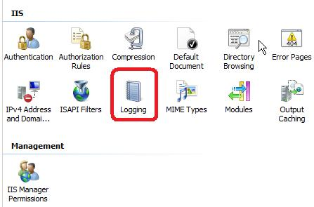 Where can I find my IIS log files?